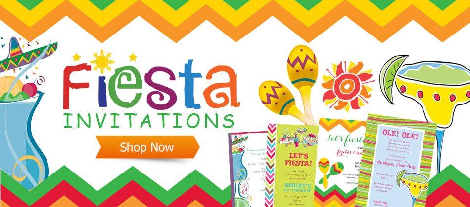 Mexican Fiesta Invitations