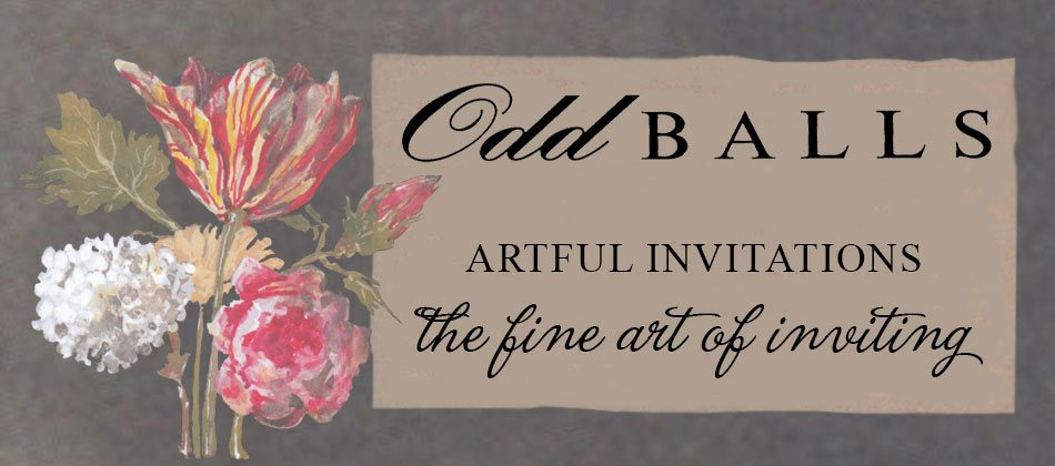 Odd Balls Invitations and Fine Stationery