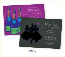 Fresh Press Party Invitations