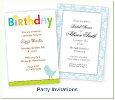 Heatherly Party Invitations