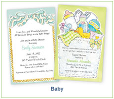 Picture Perfect Digital Designs Baby Announcements and Invitations