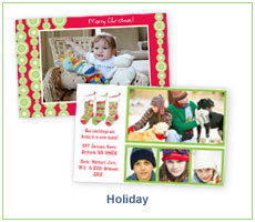 Picture Perfect Digital Deigns Holiday Invitations