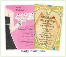 Picture Perfect Digital Designs Party Invitations