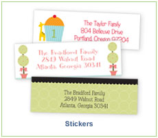 Polka Dot Design Stickers