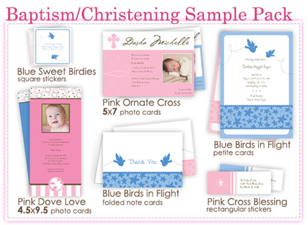 Baptism and Christening Sample Pack