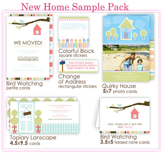 New Home Sample Pack