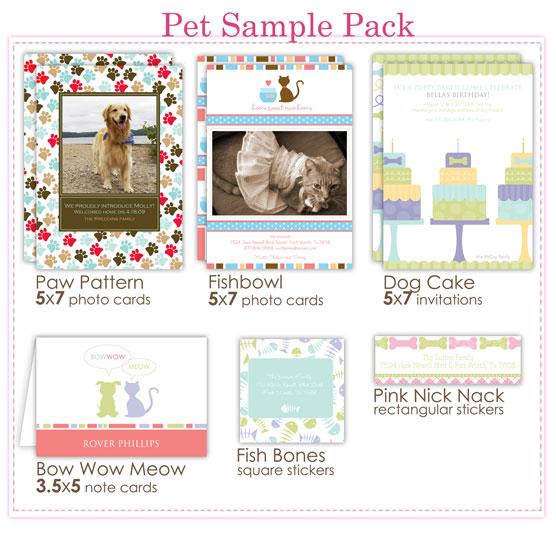 Pet Sample Pack