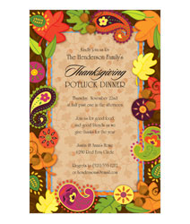 Thanksgiving Dinner Invites