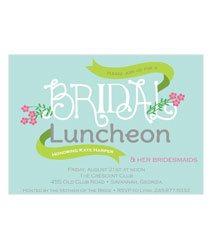 Bridal Luncheon Invitations