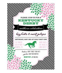 Kentucky Derby Viewing Party-Invitations