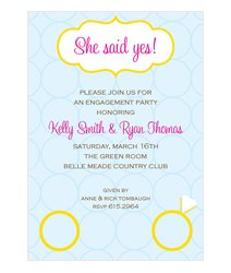 Pre Wedding Invitations