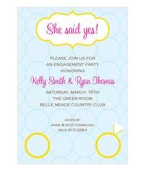 Pre Wedding Invitations