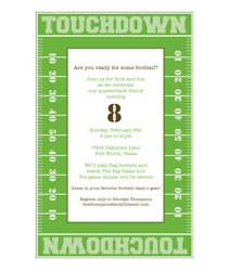 Super Bowl Party-Invitations