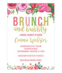 Bridal Luncheon Invitations