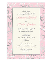 Faux Designs Corporate Embossed Party Invitations