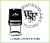 Custom College Stamps