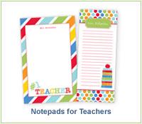 Notepads for Teachers