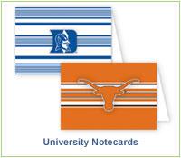 University Notecards
