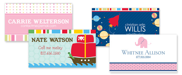 Simplify Life - Back to School - Name Cards