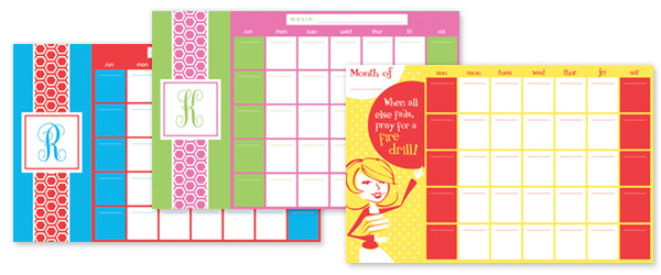 Simplify Life - Back to School - Calendars
