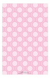1st Birthday Girl Pink Polka Dot Invitation