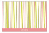 Abstract Stripes Flat Note Card