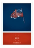 Americana Flag Invitation