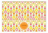 Apples and Oranges Flat Note Card