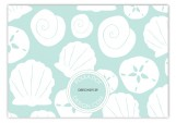 Aqua Sea Treasures Enclosure Card
