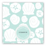 Aqua Sea Treasures Gift Tag