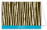 Bamboo Swizzles Note Card