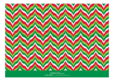 Bargello Christmas Photo Card