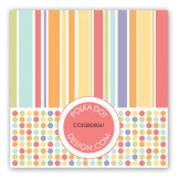 Birthday Bounce Pastels Gift Tag