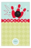 Birthday Bowling Party Invites