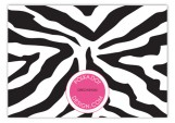 Black Zebra Enclosure Card