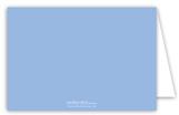 Blue Cross Banner Note Card