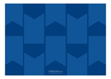 Blue Pennant Photo Card