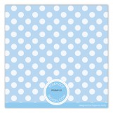 Boy Polka Dots Photo Card