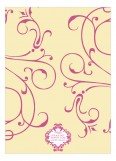 Breezy Banner Pink Invitation