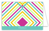 Bright Graphic Graduate Folded Note Card