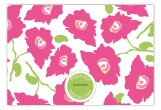 Bright Pink Poppies Flat Note Card