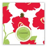 Bright Poppy Gift Tag