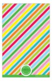 Bright Stripes Photo Card