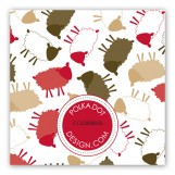 Brown Sheep Celebration Gift Tag