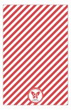 Candy Cane Holiday Treats and Cookie Exchange Invitations