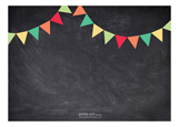 Chalkboard Birthday Boy Photo Card