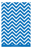 Chevron Blue Green Photo Card