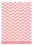 Chevron Greeting Girl Photo Card