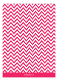 Chevron Pink Invitation