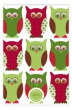 Christmas Owl Invitation